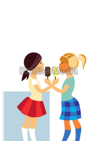 poster cream card kid girl girls